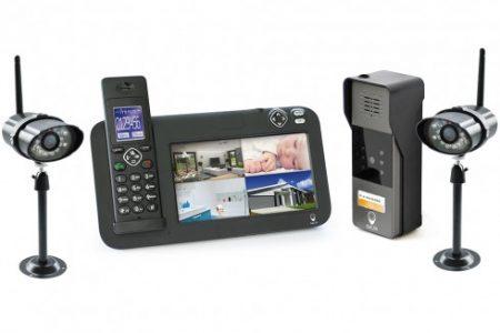Vente en ligne d'interphone video sans fil pas cher sur SCS