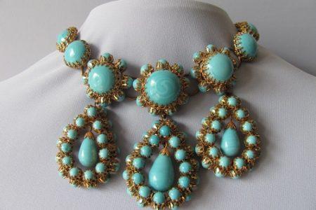 bijou turquoise sur mesure